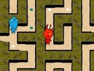 Fireboy and Watergirl Maze
